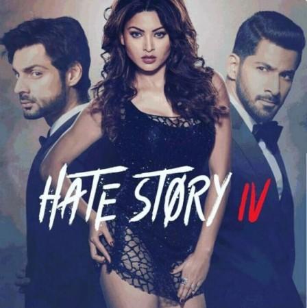 Urvashi Rautela, Karan Wahi and Vivan Bhatena in Hate Story 4 poster