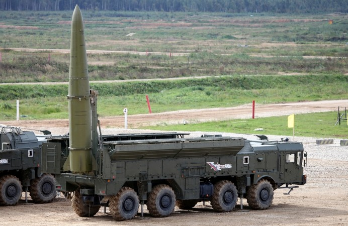 Russia said its Iskander-M short-range ballistic missile would remain unchallenged until at least 2025