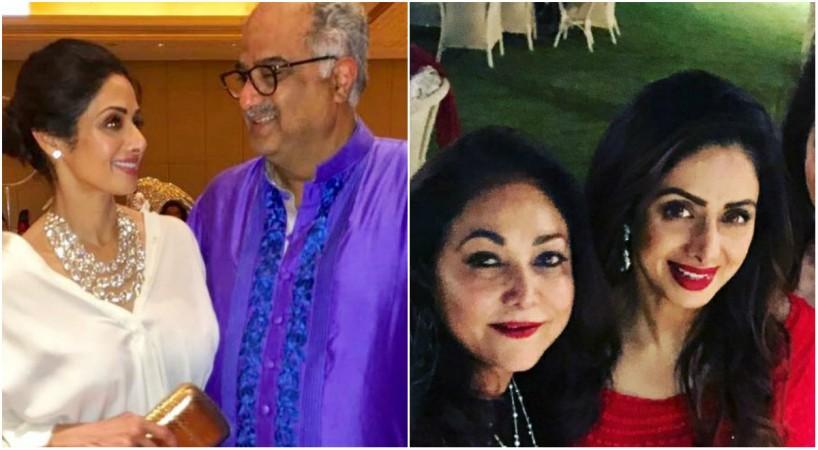 Sridevi, Boney Kapoor, Tina Ambani
