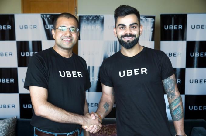 Virat Kohli Uber
