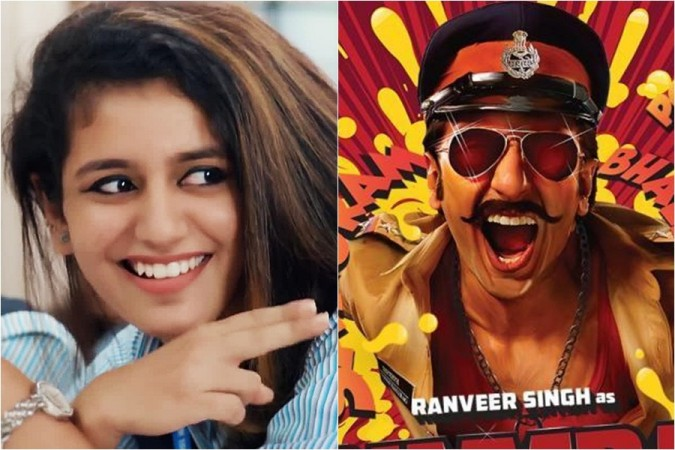 Ranveer Singh, Priya Prakash Varrier
