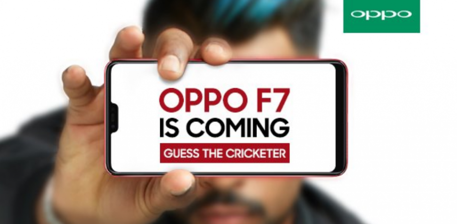 Oppo F7, Hardik Pandya, teaser, India,launch