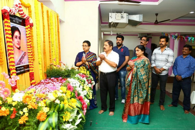 Sridevi Condolence Meet in Chennai