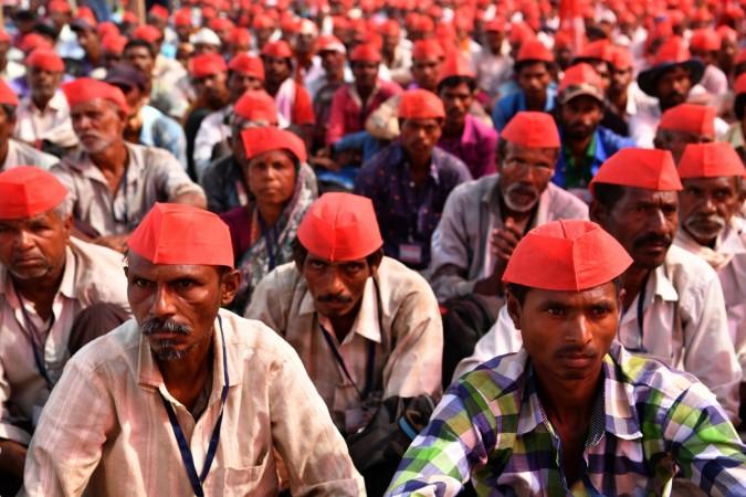 Maharashtra farmer protests
