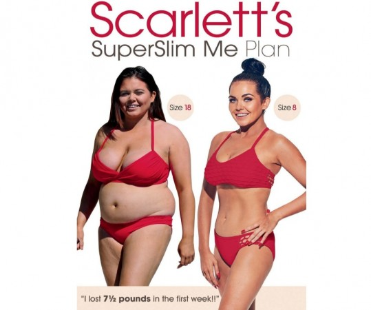 Scarlett's SuperSlim Me Plan DVD as seen on Amazon listing