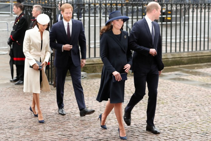 Kate Middleton Meghan Markle dress