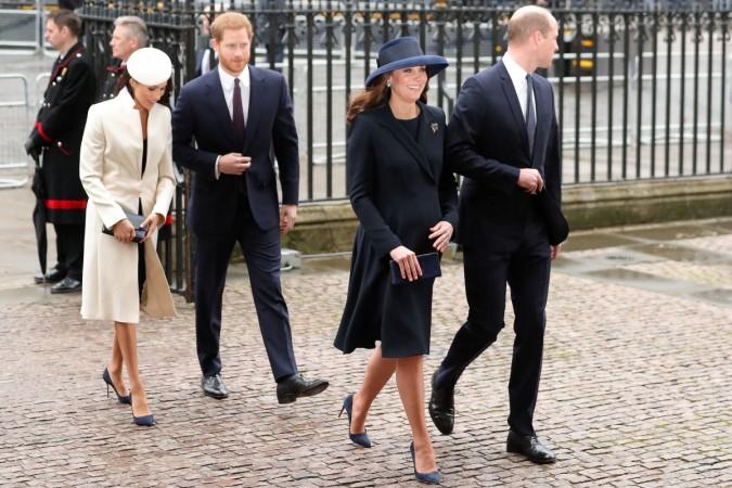 Kate Middleton Meghan Markle dress
