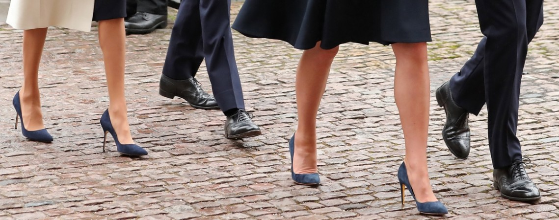 Kate Middleton Meghan Markle shoes