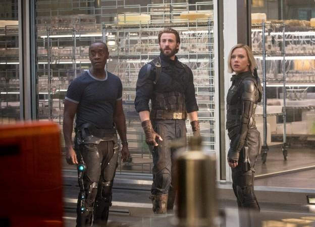 Avengers Infinity War, Captain America, Black Widow