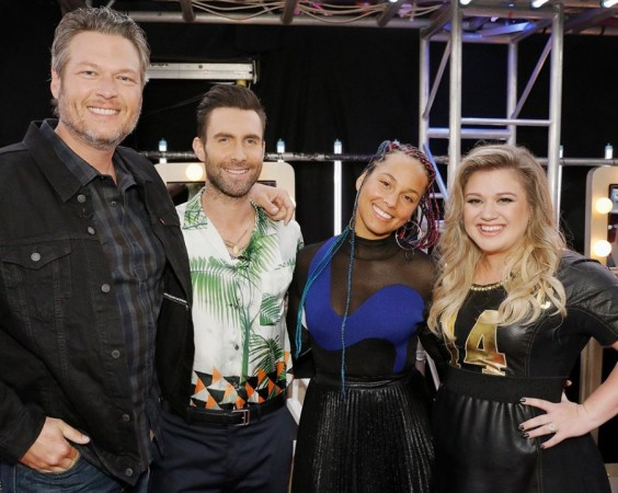 The Voice season 14 coaches Blake Shelton, Adam Levine, Alicia Keys and Kelly Clarkson