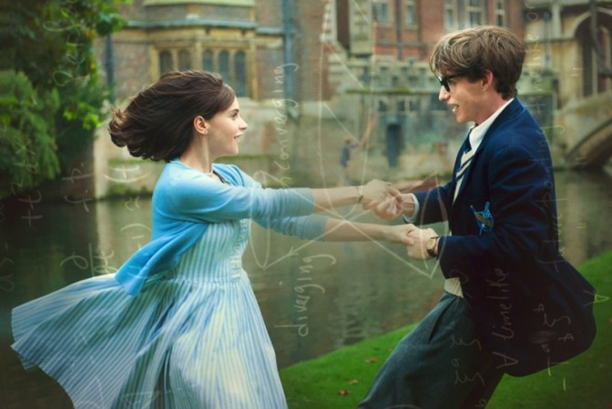 Stephen Hawking's biopic The Theory Of Everything
