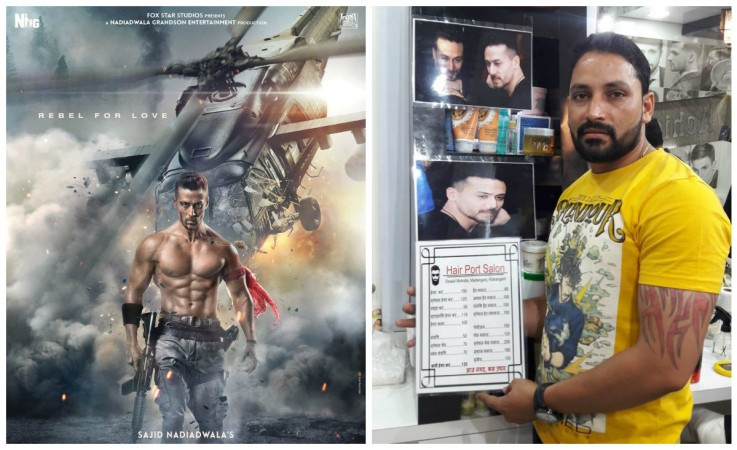 Tiger Shroff's Baaghi 2 look in demand at salon of small towns