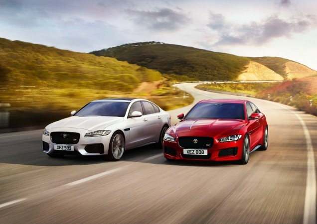 Jaguar XE and XF