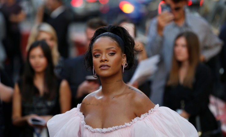 Cast member Rihanna attends the premiere of