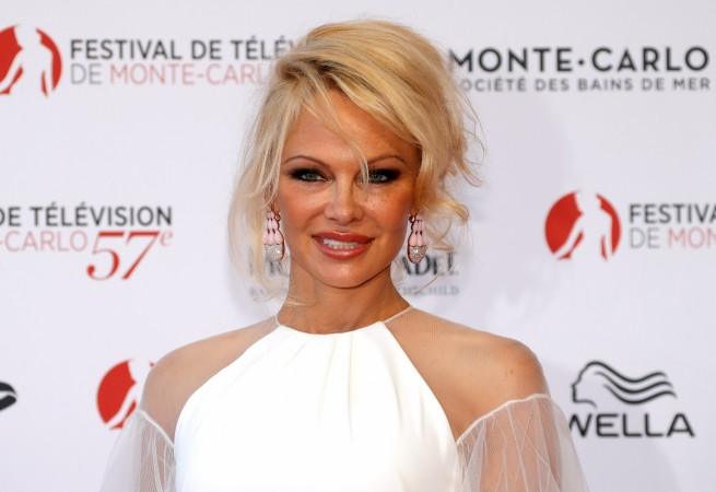 Actress Pamela Anderson attends the opening ceremony of the 57th Monte-Carlo Television Festival in Monaco, June 16, 2017.