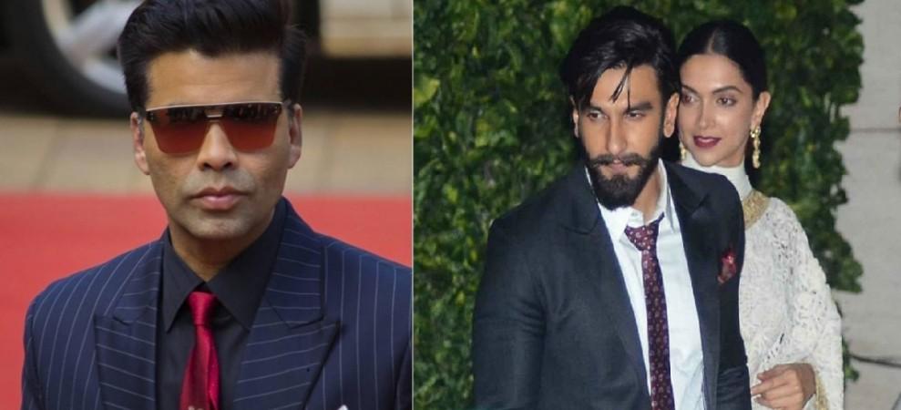 Karan Johar on Deepika Padukone and Ranveer Singh's relationship