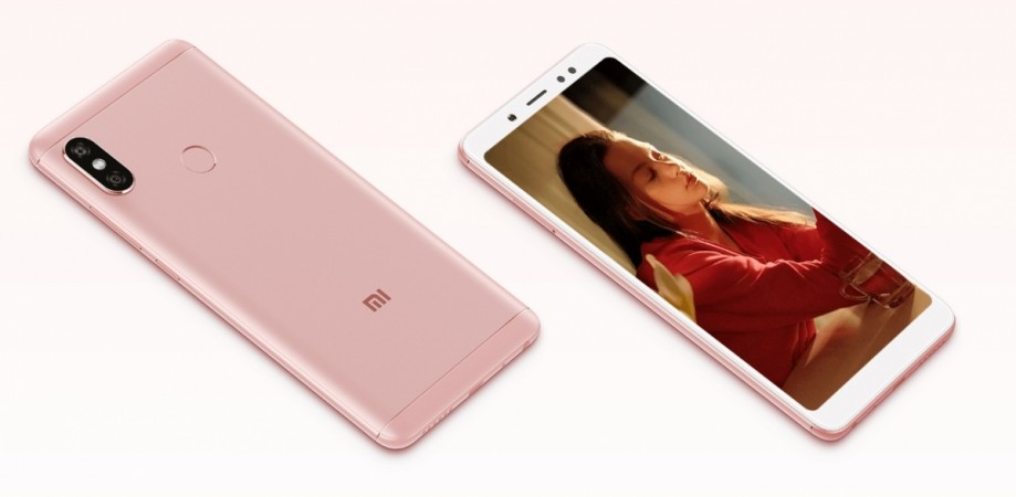 Xiaomi Redmi Note 5 (China version) as seen on its website