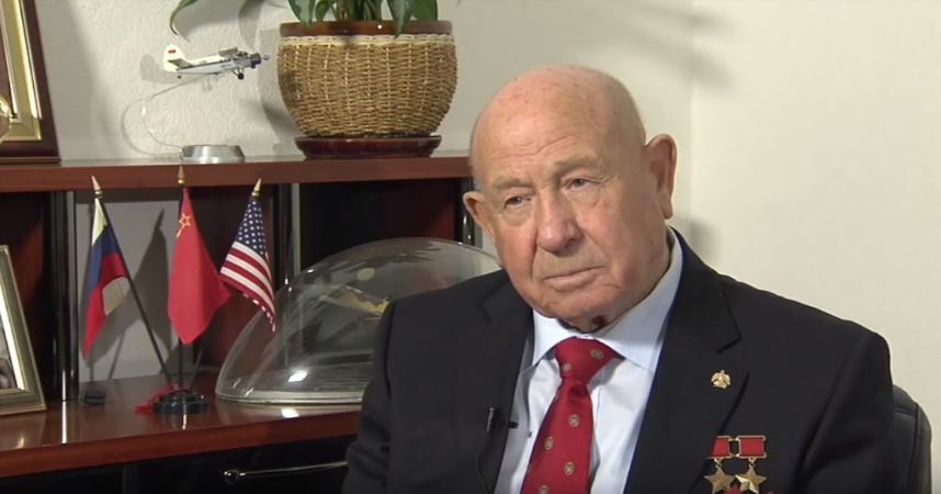 Alexey Leonov in 2014 interview with NASA.