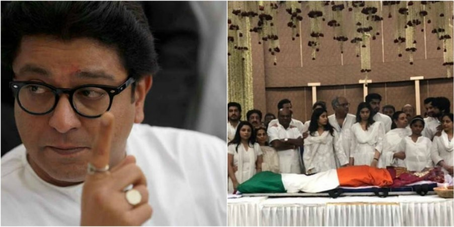Raj Thackeray and Sridevi