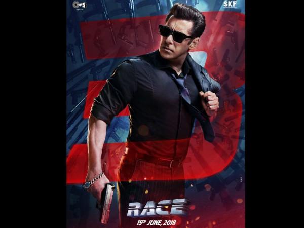 Salman Khan look in Race 3