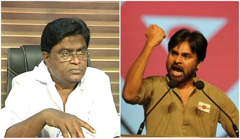 Pawan Kalyan and Jaleel Khan