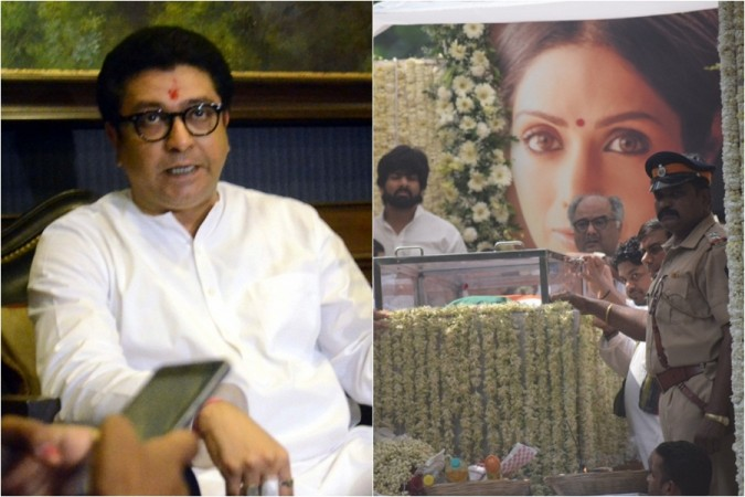 Raj Thackeray, Sridevi