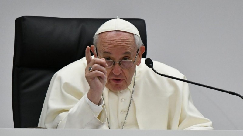 Paying for sex is to torture a woman, says Pope Francis