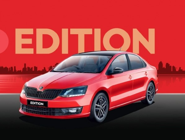 2018 skoda rapid edition launched to take on maruti. Black Bedroom Furniture Sets. Home Design Ideas