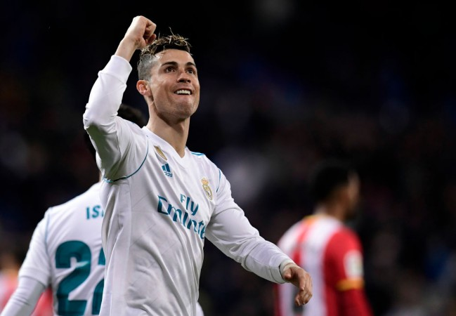 Ronaldo: 'Revelation' Salah can win Ballon d'Or