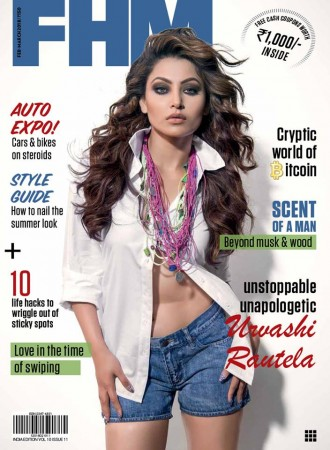 Urvashi Rautela in FHM shoot