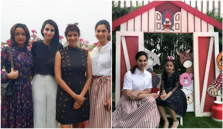 Upasana Kamineni poses with Namrata Shirodkar and Sitara
