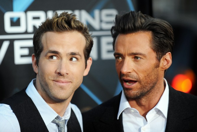 Wolverine Hugh Jackman, Deadpool Ryan Reynolds