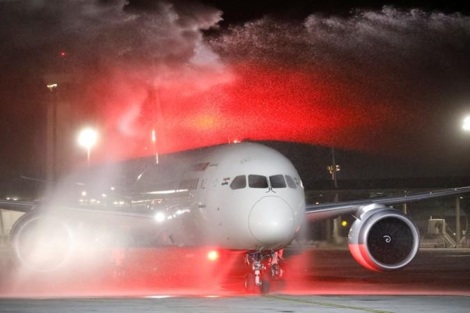 Air India aircraft land in Israel