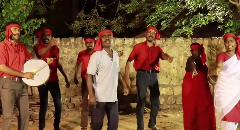 Kovan's Tamil song on VHP's Rama Rajya Rath Yatra