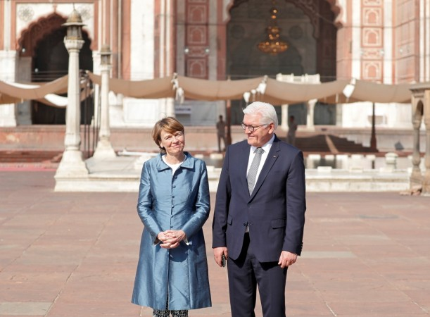 German President Steinmeier accorded ceremonial reception at Rashtrapati Bhavan