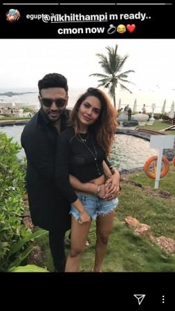 Esha Gupta dating Nikhil Thampi