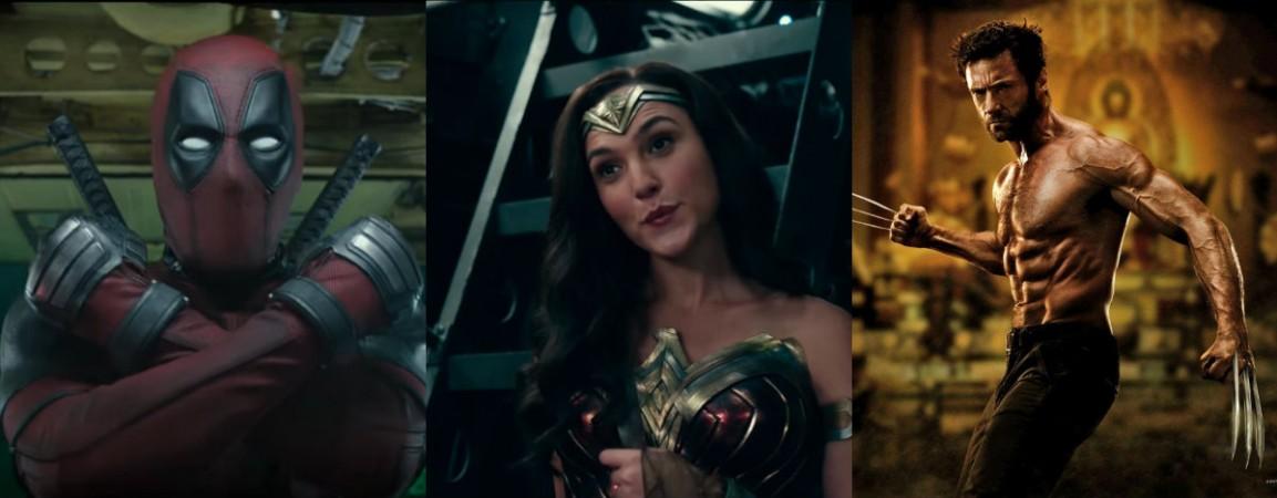 Deadpool 2, Gal Gadot Wonder Woman, Wolverine Hugh Jackman