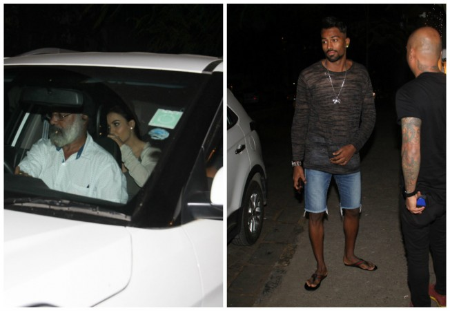Elli Avram tried to hide face from cameras when spotted with Hardik Pandya