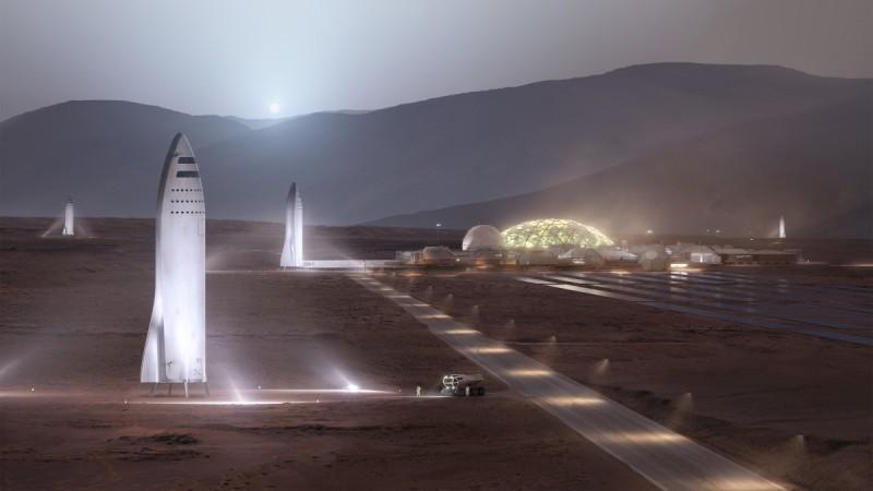 Colonisation of Mars