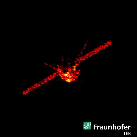 Tiangong-1 radar images captured using TIRA system