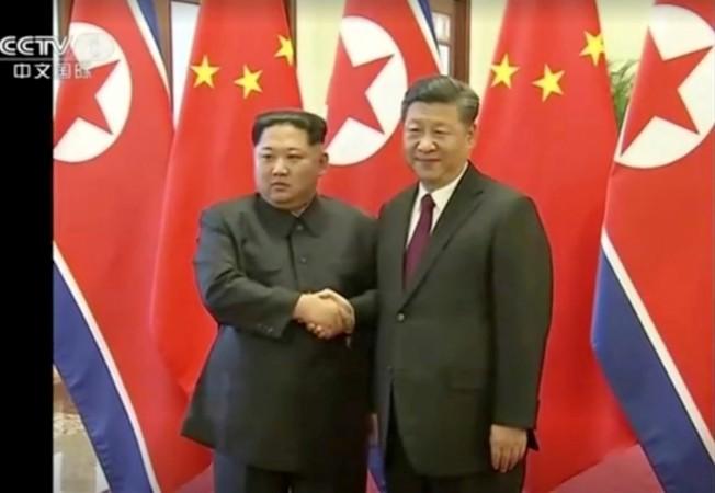 Kim Jong Un and Xi Jinping