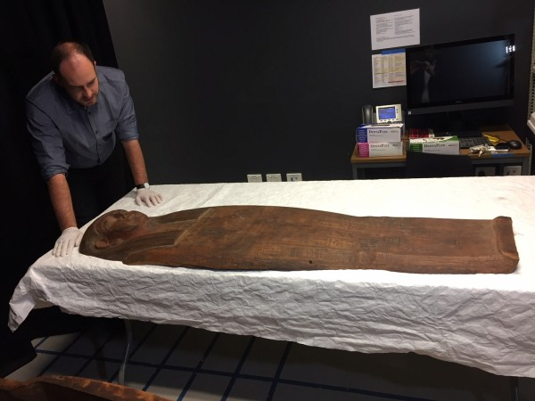2,500-year old coffin