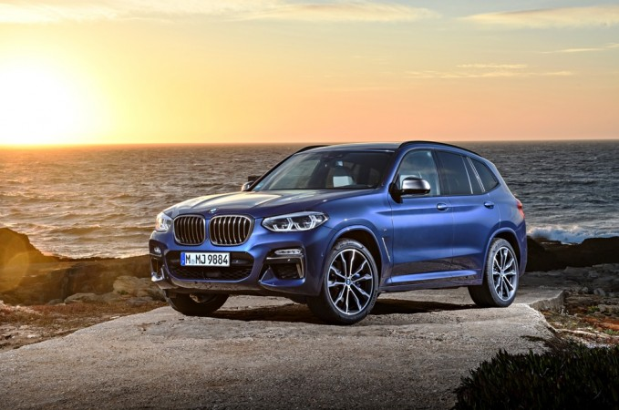 2018 Bmw X3 Suv Launched With Petrol Engine At Rs 56 90 Lakh