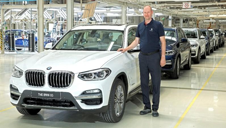 BMW X3 at Chennai plant