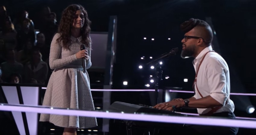 Team Alicia's Livia Faith and Terrence Cunningham performing the song Stars by Grace Potter and the Nocturnals on The Voice season 14