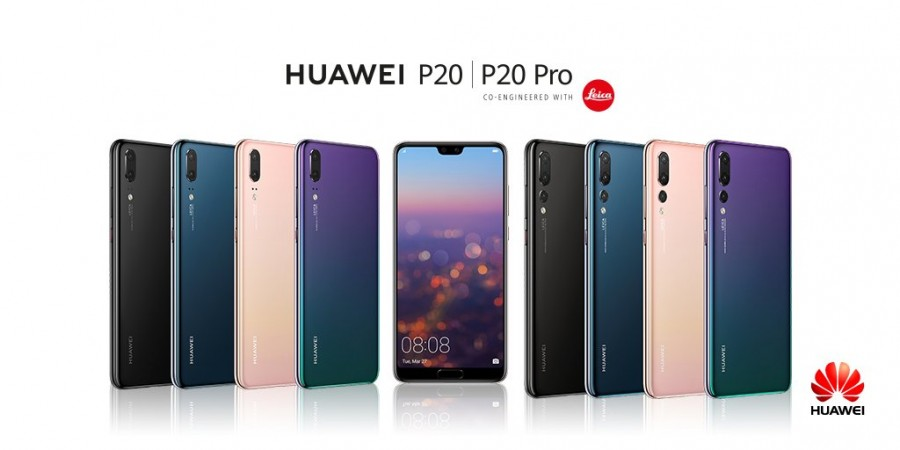 Huawei P20 and P20 officially launched