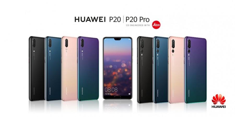 Huawei P20 Pro, Huawei P20