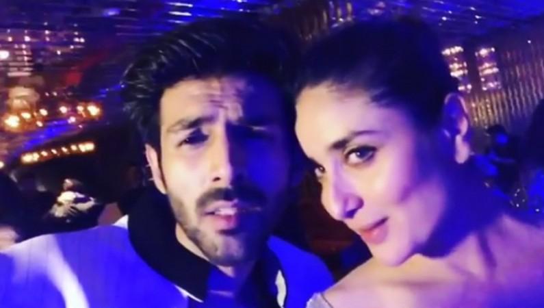 Actor Kartik Aaryan Got Trolled For Flirting With Kareena Kapoor Khan