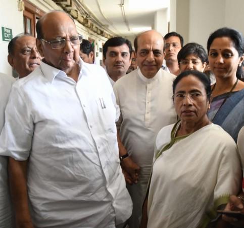Mamata Banerjee and Sharad Pawar