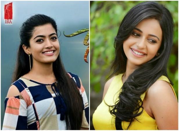 Rashmika Mandanna and Rakul Preet Singh